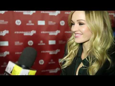 Day 2 Sundance Film Festival - Red Carpet Interview of Ambyr Childers