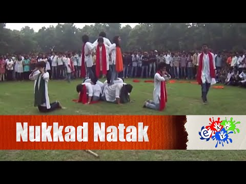nukkad natak on fundamental rights and duties by enteract club,nit durgapur - YouTube.FLV