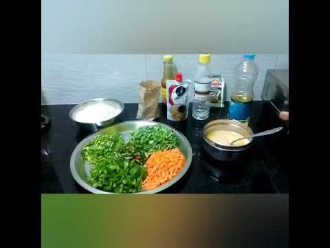 Homemade egg fried rice restaurant style