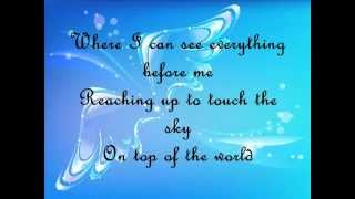 On Top of the World w/Lyrics