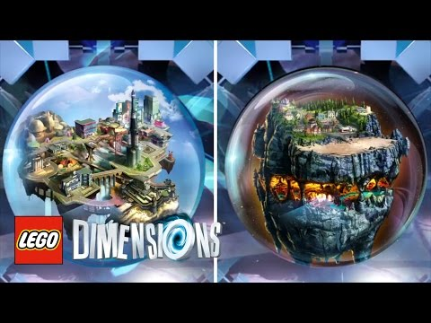 LEGO Dimensions: Wave 8 - First Look At The Goonies And LEGO CITY Adventure Worlds