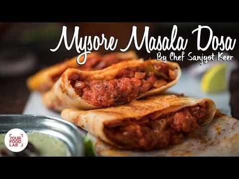 Mysore Masala Dosa Recipe | Chef Sanjyot Keer