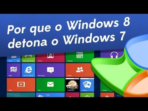 Por que o Windows 8 detona o 7? - Baixaki