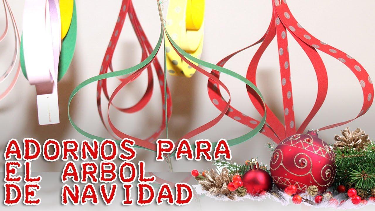 Diy adornos s per f ciles para el arbol de navidad - Adornos faciles de navidad ...