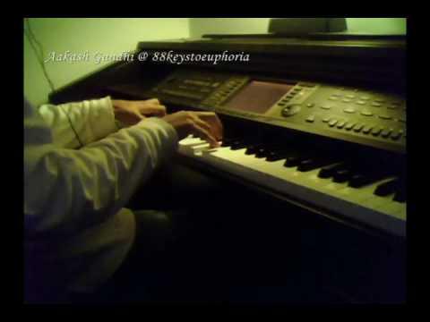 Kaise Mujhe (Ghajini) Piano Cover by Aakash Gandhi