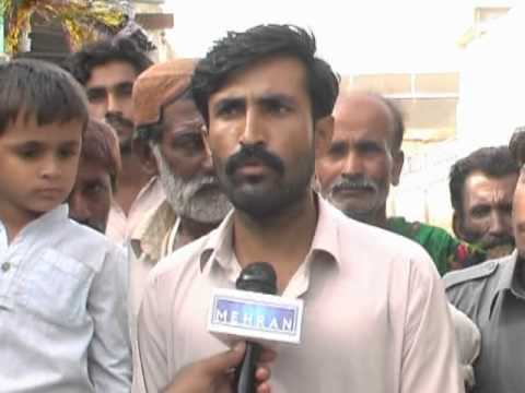 Thatta Ghulam Ulah City Me Gandagi Awami Coments Aijaz Waryo Mehran Tv video