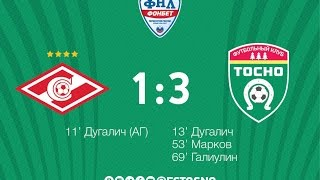 Спартак Москва-2 : Тосно