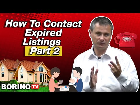 How To List Expired Listings - Live Workshop With Borino - Part 2