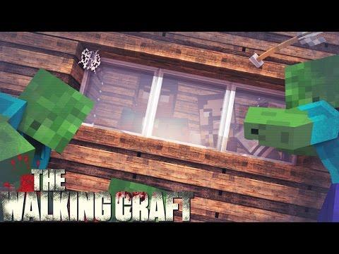 Minecraft 4 A CASA ESTA CERCADA! THE WALKING CRAFT 3Z TEMP
