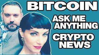 BITCOIN WAR CRASH - ASK ME ANYTHING - CRYPTO NEWS - Lets Hang Out 😿 💰