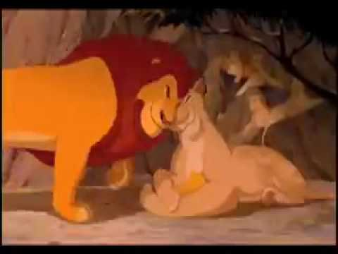 The Lion King: You'll Be In My Heart - simba and mufasa