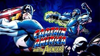 [Captain América and The Avengers (Sega Genesis / Megadrive)] Video