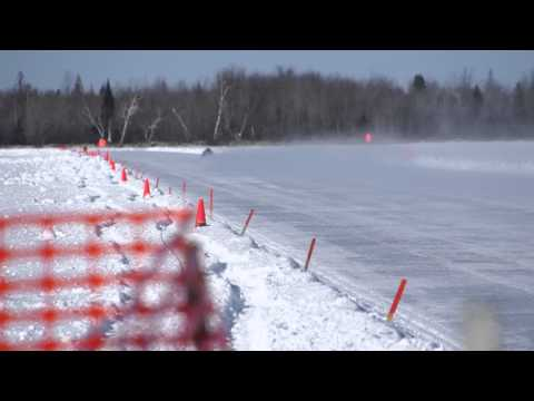 2012 Cable, WI NSSR Speed Run  162.7 MPH