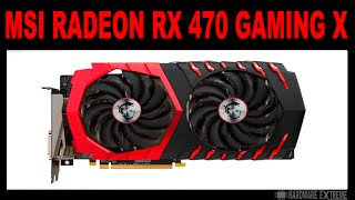 MSI Radeon RX 470 Gaming X 8GB - Full HD e 4K