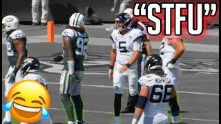 NFL Funniest quotMic39d Upquot Moments From the 2018-2019 Season Funny