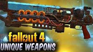 Fallout 4 Rare Weapons - 5 Awesome Secret & Unique Weapons Locations ! (Fallout 4 Best Weapons #3)