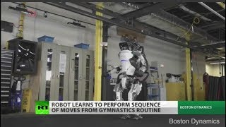 Danger: New AI robots on display