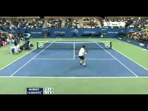 Andy Murray vs Novak Djokovic Highlights Set 4 US OPEN FINAL 2012 10 09 2012 1