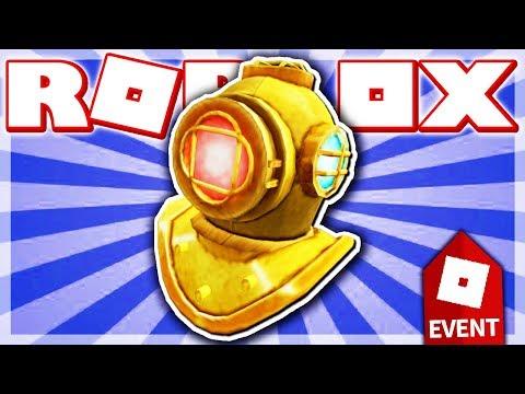HOW TO GET THE DIVER'S HELMET!! (ROBLOX ATLANTIS EVENT - Tradelands!)