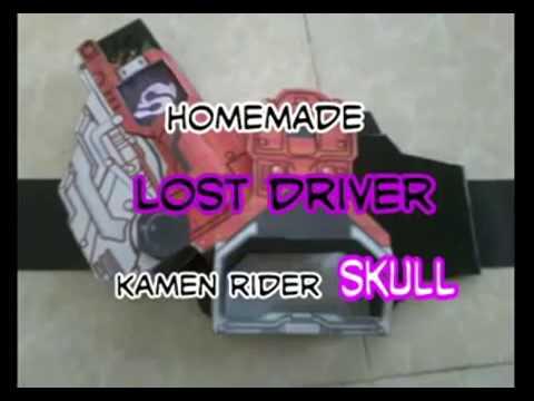 自家製 ロストドライバ - Homemade LOST DRIVER - kamen rider SKULL