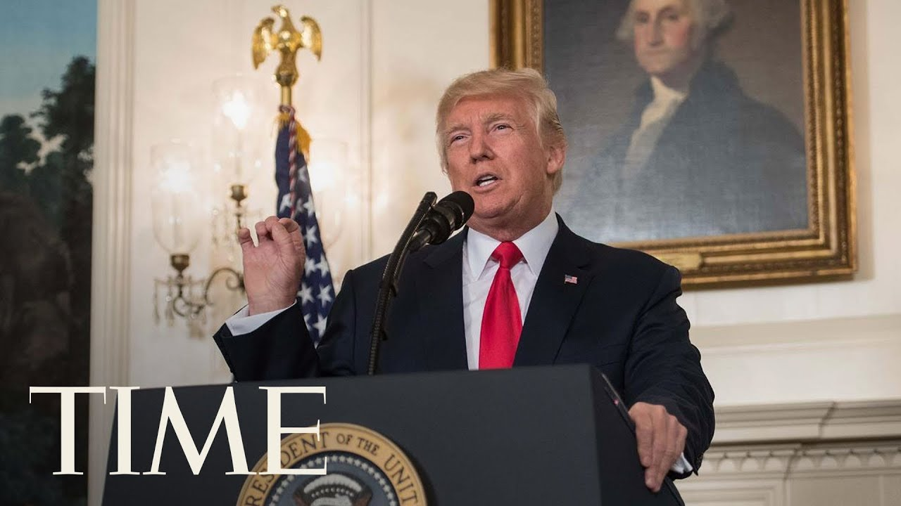 President Trump Condemns White Supremacists Two Days After Charlottesville Violence   TIME