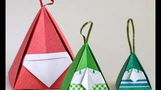Christmas Origami: Santa And Elf