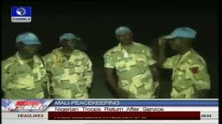 Nigerian Troops From Mali Join Military Operations In North East