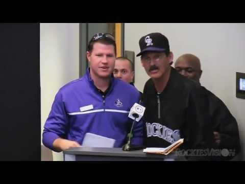 Teams are announced at Rockies Fantasy Camp