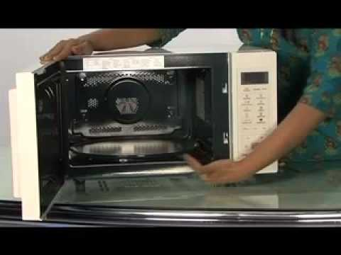 how to use samsung convection microwave oven for baking