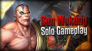 Smite: Too Many Lokis!- Sun Wukong Solo Gameplay