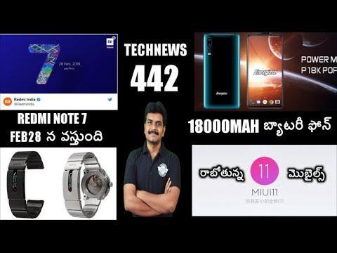 Technews 442 Redmi Note 7 india Launch,Samsung S10 Plus Live,Motorola P40,MIUI 11 Devices etc thumbnail