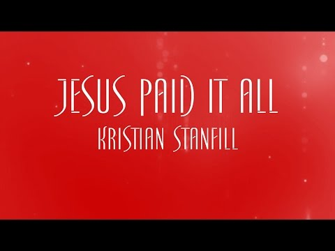 Alex Nifong - Jesus Paid It All Live