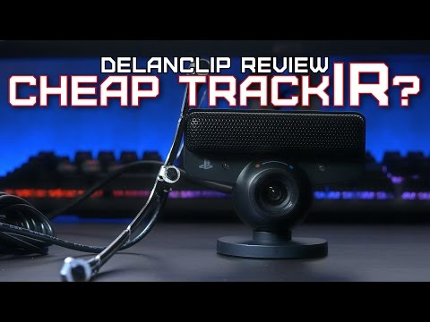 DelanClip Review | Cheap TrackIR Head Tracking?