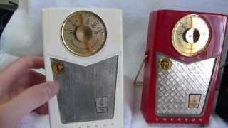 1958 Emerson 888 Pioneer Transistor Radio (made in the United States)