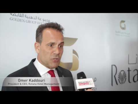 Omer Kaddouri, chief executive, Rotana Hotel Management