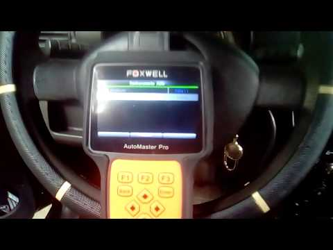 Scaner foxwell diagnóstico de falha no imobilizador (Fox da VW )
