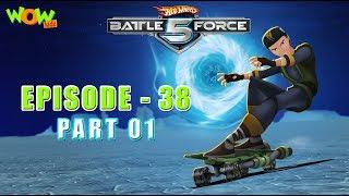 Motu Patlu presents Hot Wheels Battle Force 5 - Mouth of the Dragon- S2 E38.P1 - in Hindi
