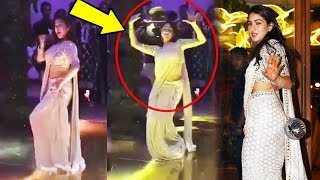 Sara Ali Khan HOT DANCE On Saat Samundar Paar At Wedding Reception