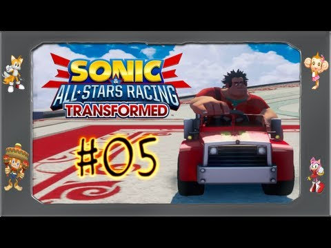 Sonic All Star Racing Transformed - #05