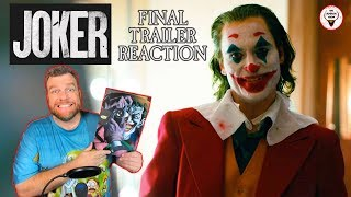 """Joker"" 2019 Final Trailer Reaction - The Horror Show"