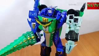 Lắp ráp đồ chơi robot siêu nhân Gaoranger .NA TV