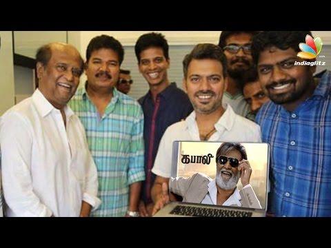 Shankar and Team '2.0' gives a Stunning opinion about 'Kabali' Teaser | Rajinikanth