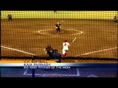Rainbow Wahine softball team defeats Cal State Northridge over weekend