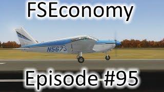 FSX | FSEconomy Ep. #95 - Elkhart to Liberal | PA-28 Cherokee