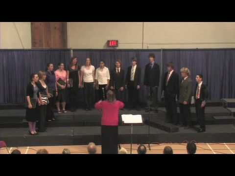 """Shenandoah"" - Sung by The Waring School Madrigals - 04/23/2009"