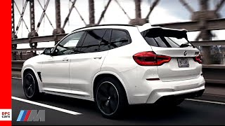 2020 BMW X3 M Competition in Alpine White