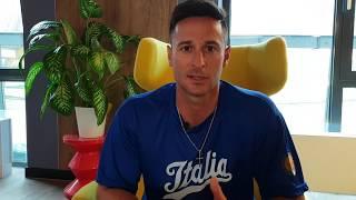 Alessandro Maestri dopo la vittoria contro Cuba alla Haarlem Week 2018