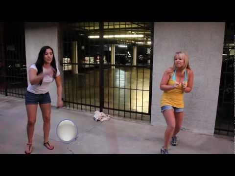 Double Dutch Crotch Shot Prank