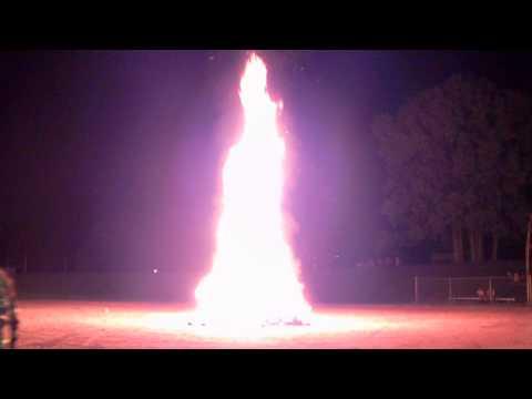 Northeastern Senior High School Homecoming Bonfire 2014 - 10/2/14