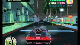 GTA Vice City Back to the Future mod gameplay (clocktower)